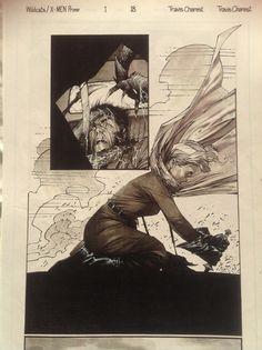 pg 18 Comic Art Wild Cats