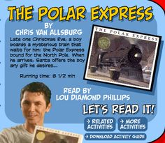 Video: Storyline has a video of The Polar Express, read by Lou Diamond Phillips