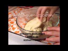 Mayasız puf puf poğaça videosu | mutfagimiz.com