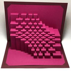 Trochoid : kirigami pop-up paper sculpture by Ullagami on Etsy