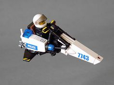 Police speederbike GOT-u by Jerac, via Flickr