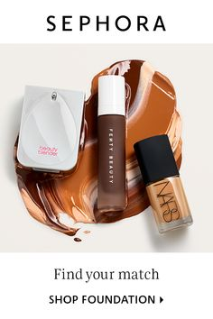 Foundation at Sephora comes in a variety of formulas and finishes. Shop foundation and find the perfect coverage for your beauty routine. Cute Makeup, Beauty Makeup, Makeup Looks, Colors For Skin Tone, Lip Colors, No Foundation Makeup, Foundation Tips, Flawless Foundation, Makeup Trends