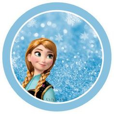 Frozen with Snow: Free Printable Party Kit. - Oh My Fiesta! in english Frozen Party Snacks, Candy Bar Frozen, Frozen Party Decorations, Frozen Birthday Party, Girl Birthday, Frozen Free, Anna Frozen, Disney Frozen, Frozen Tags