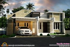 Small villa plans indian style large size of small house designs and floor plans design modern . Best Small House Designs, Small Modern House Plans, Small House Floor Plans, Home Design Floor Plans, Modern House Design, Modern Houses, Small Villa, Beautiful Small Homes, House Design Pictures