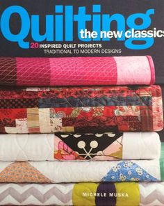 Win a copy of Quilting the New Classics, along with a 5-fabric bundle from Fabric Traditions, and 4 quilting templates from Darlene Zimmerman for scallops, wedding rings, and dresden plates.