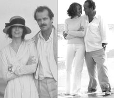 Diane Keaton & Jack Nicholson in 1981 and 2003