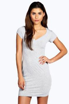 0b3cc946157 Day Dresses. Grey Midi DressGrey Bodycon ...