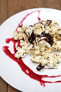Bolas de palomitas con caramelo y almendras | T&M en Emol.com