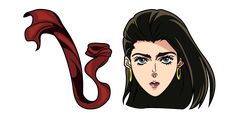 Brave Ripple Master Elizabeth Joestar, better known as Lisa Lisa, and her long Ripple-infused scarf in the anime cursor from the JoJo's Bizarre Adventure series. Jojo's Bizarre Adventure, Yandex, Brave, Jojo Bizarre, Disney Characters, Fictional Characters, Lisa Lisa, Anime, Crafts