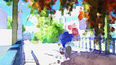 Sonic Apotos painting in Windmill Isle. Sonic Videos, Sonic Unleashed, Sonic Art, Mob Psycho, Sonic The Hedgehog, Concept Art, Geek Stuff, Fan Art, Video Games