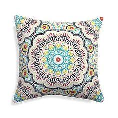 "Kaleidoscope 20"" Sq. Outdoor Pillow"