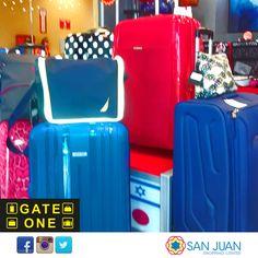 Te vas de fin de semana y no tienes un bulto o maleta adecuada? en la tienda Gate One de #sanjuanshoppingcenter encontraras todas las maletas mas adecuada a tu gusto. #bavaro #puntacana #gateonesanjuan