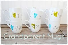 Grandparent Mugs and 11 other Handmade Gifts For Grandparents