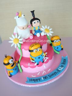 Despicable Me Minion Cake | DO SOMETHING UNIQUE IN MY LIFE posted on February 22, 2012