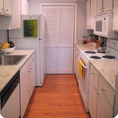 tiny galley kitchen pinterest small galley kitchens galley