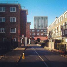 Bethnal Green, morning sunshine