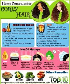 Home Remedies for Managing Curly Hair: