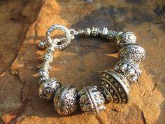 Southwestern Silver Bracelet