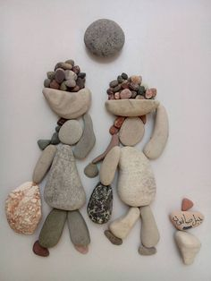 Unimaginable Collection of Compositions made of pebbles and stones | Graphic Art News