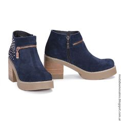 Moda otoño invierno 2016 botas de mujer Viamo.