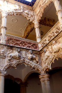 Interior Palacio del Duque del Infantado  Guadalajara