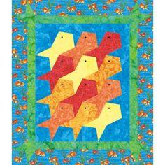 Goldfish Crib Quilt Pattern