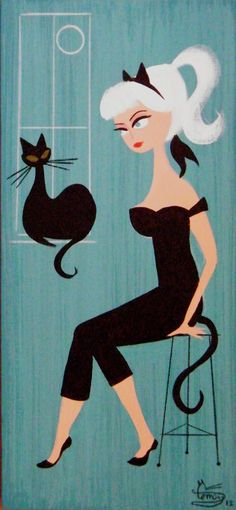 ilustración de El Gato Gómez