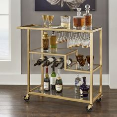Tray Bars Your bar needn't use up plenty of room. Sponsor one if you're a bar or pub. A little bar probably an only option for a number of us. Decorating your very own home bar can be an intimidating… Continue Reading → Diy Bar Cart, Gold Bar Cart, Bar Cart Styling, Ikea Bar Cart, Black Bar Cart, Metal Bar Cart, Metal Bar Stools, Counter Stools, Mini Bars