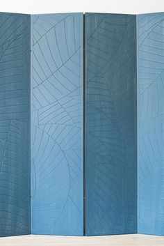 Palm Leaf Screen | The Itz'ana Home Collection from Samuel Amoia & Itz'ana Belize Resort & Residences: