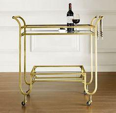duncan bar cart