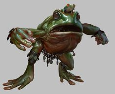 Green Bush Toad from Guild Wars: Eye of the North