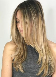 Long Layered Hair: 45 Best Long Haircuts with Layers (Trending in hair cut styles for long hair - Hair Cutting Style Best Long Haircuts, Haircuts For Long Hair With Layers, Haircuts For Fine Hair, Layered Long Hair, Haircut Long Hair, Straight Hairstyles For Long Hair, Layered Cuts, Long Layered Haircuts Straight, Trendy Haircuts