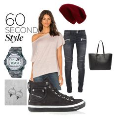 """""""Untitled #39"""" by wheelofsoul ❤ liked on Polyvore featuring BKE, G-Shock, Balmain, CP Shades, Diesel, Sole Society, Yves Saint Laurent, men's fashion, menswear and DRAKE"""