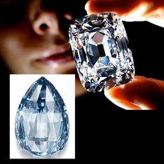 Christie's Geneva rocked the auction world when the 76.02-carat Archduke Joseph Diamond  Sotheby's Geneva set its own world record when a 10.48-carat deep-blue diamond