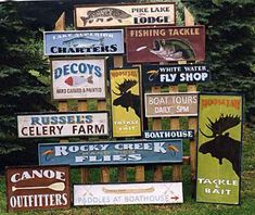 Antique Signs, custom vintage signs, wood signs, rustic tin signs hand painted and custom designed!