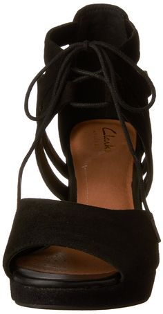 CLARKS Womens Mayra Poppy Leather Open Toe Casual Ankle Strap SandalsBlack -- Details can be found by clicking on the image. (This is an affiliate link and I receive a commission for the sales) Clarks Shoes Women, Suede Sandals, Flats, Tap Shoes, Dance Shoes, Black Suede, Poppy, Open Toe, Ankle Strap