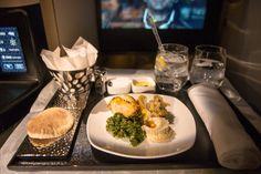 Etihad Business Class -Arabische Mezze #businessclass #airbus #boeing #economyclass #firstclass #etihad #travel #review #food #boeing787 #dreamliner #mezze