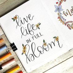 How to Make Your Bullet Journal Work For You – Bullet Journal 101 April Bullet Journal, Bullet Journal Quotes, Bullet Journal Cover Page, Bullet Journal Lettering Ideas, Bullet Journal Notebook, Bullet Journal Ideas Pages, Bullet Journal Layout, Bullet Journal Inspiration, Bullet Journals