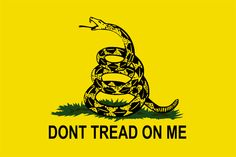 Don't Tread On Me Flag - The Significance of the Rattlesnake | AWESOME !!! I'm getting one.