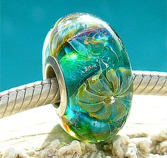 OPAL JELLY FLOWERS Fully Lined Sterling Silver by beachlifebeads, $24.00
