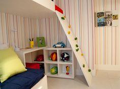 Quarto de solteiro decorado - http://planoeplano.com.br/imovel/fatto-novo-panamby