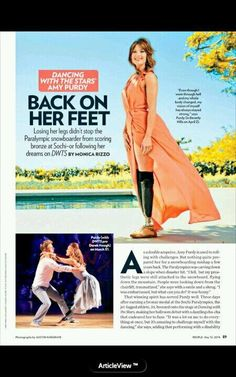 Amy in People Magazine