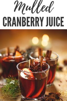 Mulled Cranberry Juice Drink Tags, Christmas Drinks, Cranberry Juice, Non Alcoholic Drinks, Beef, Breakfast, Recipes, Food, Meat