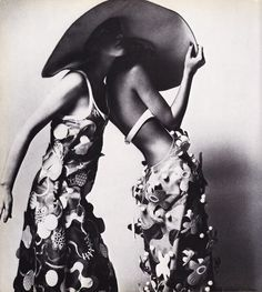 Image created from Hats in Vogue Since 1910. Photographer: Guy Bourdin