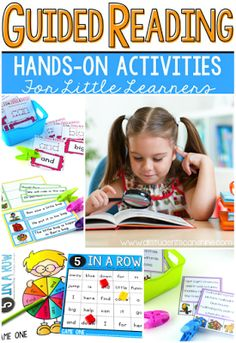 Guided Reading - Sight Words & Short Passages. SO many fun ideas for small reading groups! Perfect for beginning readers.