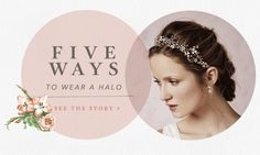 Animate a variety of ways to work a look Anthropologie Wedding, Fun Gif, Pearl Bridal, Email Design, Bhldn, Circle Design, Editorial Design, 5 Ways, Circles