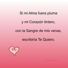 Versos de Amor. Spanish language Love Quotes
