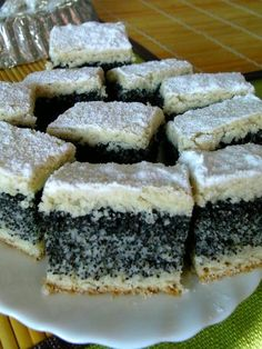 Romanian Desserts, Romanian Food, Sweets Recipes, Cake Recipes, Delicious Deserts, Polish Recipes, Cake Cookies, Sweet Treats, Good Food