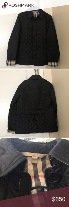 NWOT Burberry Brit Black Ashurst Quilted Jacket Authentic Burberry Brit. Purchased from Nordstrom. Brand new without tags. Took the tags off because I thought I'd wear it but never did. Perfect condition. Size small. Black. Burberry Jackets & Coats Trench Coats