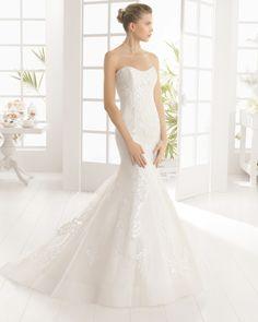 MARYS vestido de novia de Aire Barcelona 2016